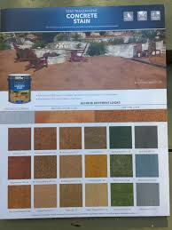Behr Concrete Stain Color Chart New Old House In 2019