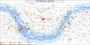 Messier Star Chart Planet Facts