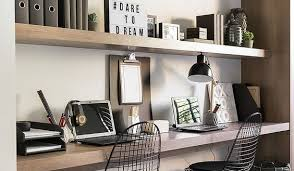 office shelving ideas. Interesting Shelving Office Shelving Ideas Elegant Floating Shelves In A Niche And Desk Top With  The Same As Well 3  On