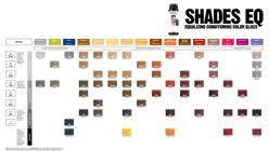 Shades Eq Shade Chart Redken Professional Shades Eq Shade Charts Color Hair