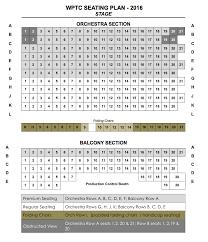 Seating Chart Box Office Weston Playhouse