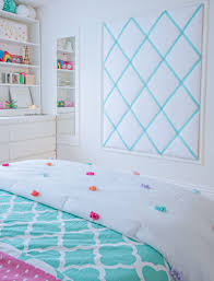 how to make an oversized ribbon memo board diy teen girl bedroom decorating ideas