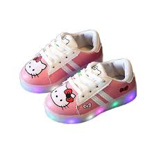 Baby Girl Shoes With Lights Baby Girl Shoes Led Light Up Baby Shoes 1 6 Yrs Baby Sneakers