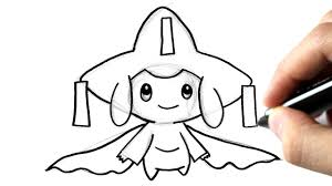 Comment Dessiner Jirachi Pokemon Youtube