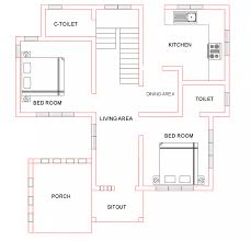 homeinner com presents a free indian house plan 1500 sq ft 4 bedroom 3 attached bath from homeinner house design team