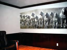 wall art fiberglass statue relief sculpture horse sculptures