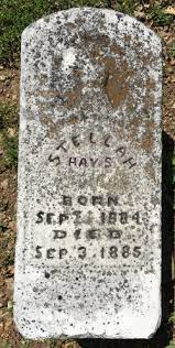 Stella Hays (1884-1885) - Find A Grave Memorial