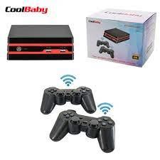 Coolbaby 2019 yeni HDMI/AV Video oyunu konsolu 64 Bit destek 4K çıkışı  Retro 600 klasik aile Video oyunu s retro oyun konsolu|Handheld Game  Players