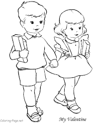 Small Picture Coloring Pages Boys And Girls Dzrleathercom