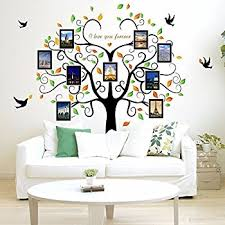 Small Picture Amazoncom Large Family Tree Wall Decal Peel stick vinyl sheet