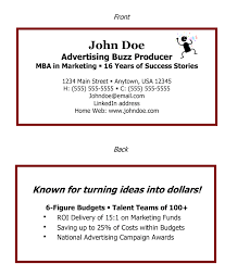 Super Job Seeker Business Cards Examples Inspiration A Must Have In