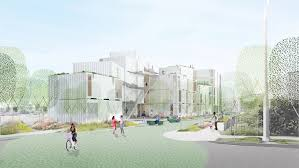 Vassar City Lights Affordable Housing Project Loha Designs Affordable Housing Complex For Difficult Site