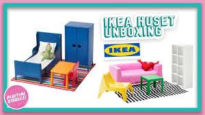 Ikea dollhouse furniture Doll Ikea Huset ikea Doll Bed Dollhouse Furniture Sets unboxing 2018 Youtube Ikea Huset ikea Doll Bed Dollhouse Furniture Sets unboxing