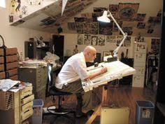 comic artist studio google search artist office