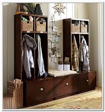 Hall Storage Bench And Coat Rack 100 Hallway Shoe And Coat Storage Armoire Chaussures Manguier Blanc 85