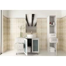 39 Bathroom Vanity Jwh Living Lune 39 Single Vessel Modern Bathroom Vanity Set