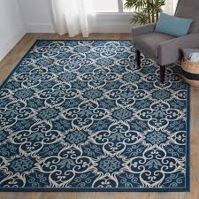 Nourison Caribbean Indoor Outdoor Graphic Area Rug 7 10 x 10 6