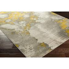 grey and gold area rugs chartwell light gray gold area rug allmodern milltown grey gold indoor outdoor area rug
