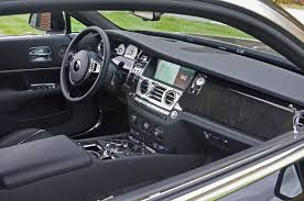 rolls royce wraith interior black. 2016 rollsroyce wraith road test review rolls royce interior black e
