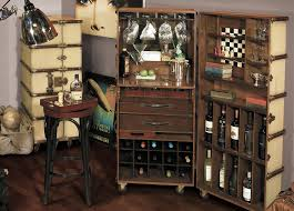 bar trunk furniture. Ivory Trunk Bar; Home Bar Decor With Fun Furniture And Accessories;  #speakeasy