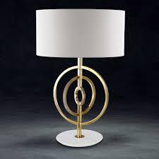 luxury 24 carat gold plated swarovski crystal table lamp