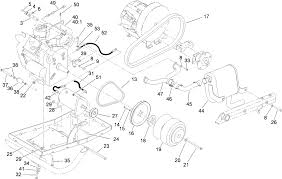 toro parts workman mdx utility vehicle engine and clutch assembly