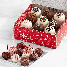 holiday cake balls. Beautiful Balls 10 HandDipped Christmas Cherries U0026 9 Cake Truffles Balls Intended Holiday 0
