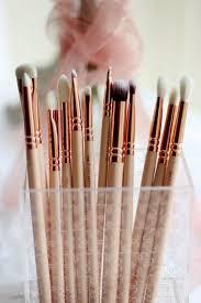 zoeva rose golden plete eye set precision eyes makeup brushes set with eyeshadow blending pencil makeup brushes