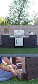 Do It Yourself Outdoor Kitchen 25 Best Ideas About Outdoor Grill Area On Pinterest Backyard