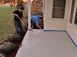 painting a cement floorHow to Stamp a Concrete Porch Floor  howtos  DIY