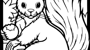 Free Coloring Pages Of Baby Birds In Nestntable Squirrels