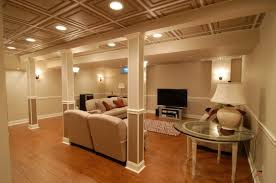 lighting options. Elegant Basement Lighting Options