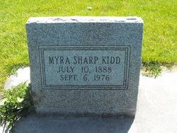 Myra Sharp Kidd (1888-1976) - Find A Grave Memorial