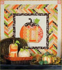Quilt Inspiration: Free Pattern Day: Halloween & Look Into My Eye, 43 x 43
