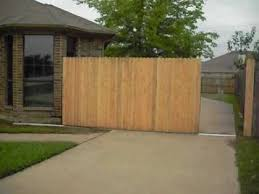 wood fence driveway gate. Fine Fence To Wood Fence Driveway Gate