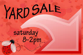Free Yard Sale Signs Yard Sale Signs The Power Of 15