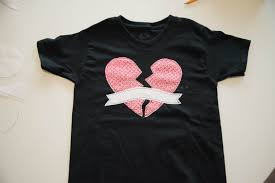 Applique Work Designs On Shirts 2015 Diy Applique Heartbreaker T Shirts See Cate Create