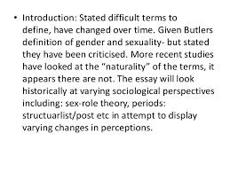 natasha khan gender sexuality essay plan essay planby natasha khan 2