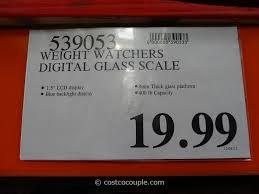 weight watchers digital glass scale costco 1