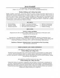 Medical Billing Resume Template Best Template Medical Coder Resume Sample Exol Gbabogados Co Template