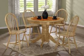 Round Kitchen Table For 4 Round Kitchen Table Sets White Show All Astounding Reclaimed
