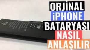 Orjinal iPhone Bataryası Nasıl Anlaşılır? (Sesli Anlatım) - YouTube