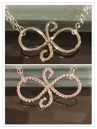 friendship symbol necklace gift best friends eternal friendship sterling silver gift friends bridesmaids