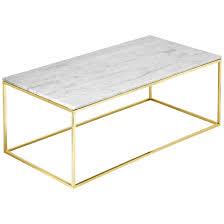estudio furniture como white marble coffee table  reviews