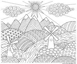 landscapes in pencil pdf drawing