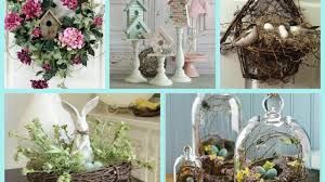 Spring Decorating Spring Decor With Nests And Birdhouses Bird Nest Easter Decor