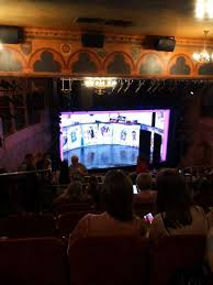 August Wilson Theatre Section Mezzanine L Row O