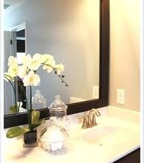 framed bathroom mirrors diy. Framed Bathroom Mirror Mirrors At Vanity Contemporary With Diy
