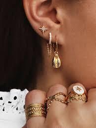 Boucles d'oreilles India