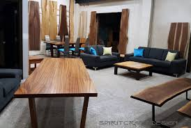 tables furniture design. Simple Furniture Our Hardwood Furnitire Live Edge Slabs And Tables In Our East Dundee  Illinois Showroom With Tables Furniture Design T